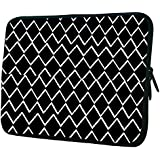 """Snoogg Tech Ski 12"""" 12.5"""" 12.6"""" Inch Laptop Notebook Slipcase Sleeve Soft Case Carrying Case For Macbook Pro Acer Asus Dell Hp Sony Toshiba"""