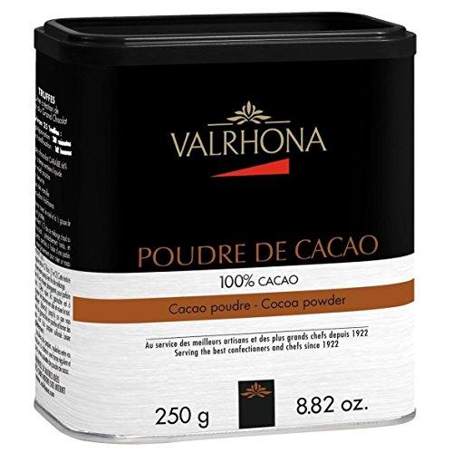 VALRHONA Kakaopulver, 100 % Kakao, 250 g