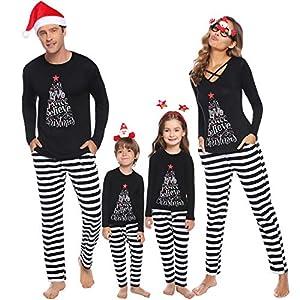 iClosam Pijamas De Navidad Familia