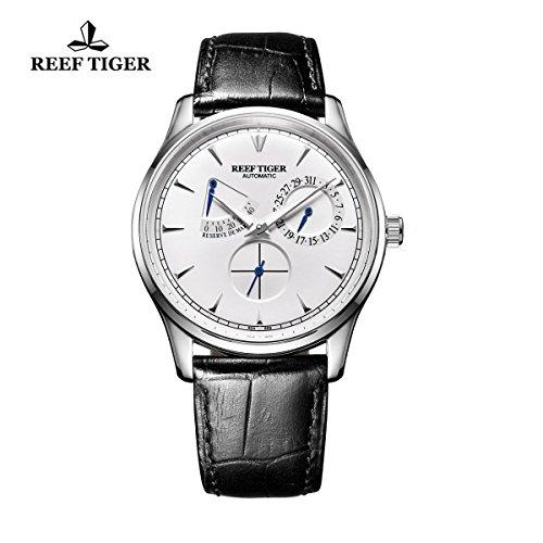 reef-tiger-power-reserve-kalender-automatische-uhren-weiss-zifferblatt-stahl-herren-armbanduhr-rga19