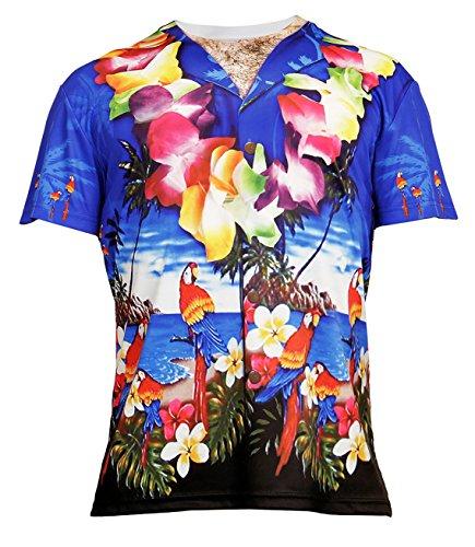Widmann - T-Shirt Hawaii, für Erwachsene