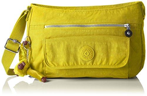 Kipling Syro, Sacs Bandoulière Femme, Jaune (REF34N Mustard Yellow), 31x22x12.5 cm