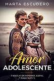 Amor Adolescente: 3 Novelas de Romance Juvenil y Adolescente (Colección Romántica Juvenil)
