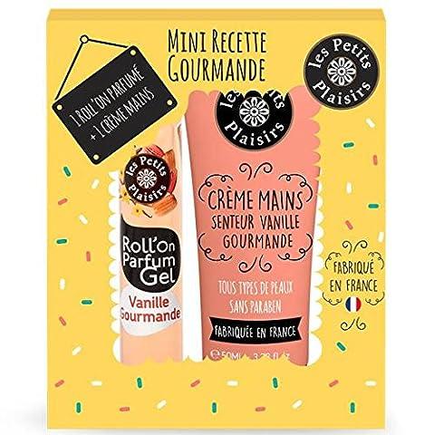 Die kleinen Freuden Koffer Mini Rezept Gourmande Perfect Match Roll Man + Creme für Hände
