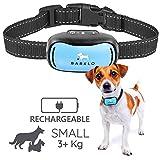 Barklo Mini Vibrationshalsband für kleine Hunde - Effektiven Antibell Halsband für Kleine und Mittlere Hunde ab 3kg und 12cm-48cm Halsumfang