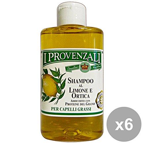 Set 6 I PROVENZALI Shampoo Limone-ORTICA Grassi 250 Ml. Prodotti per capelli