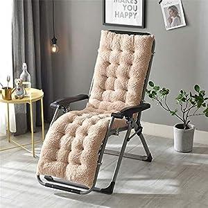 Liuxiaomiao Sitzkissen, Liegestuhl-Kissen, Sonnenliege, Gartenmöbel, Terrassenliege, Liegestuhl, Sitzkissen für Auto…