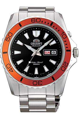 Orient Mens Analogue Automatic Watch with Stainless Steel Strap FEM75004B9