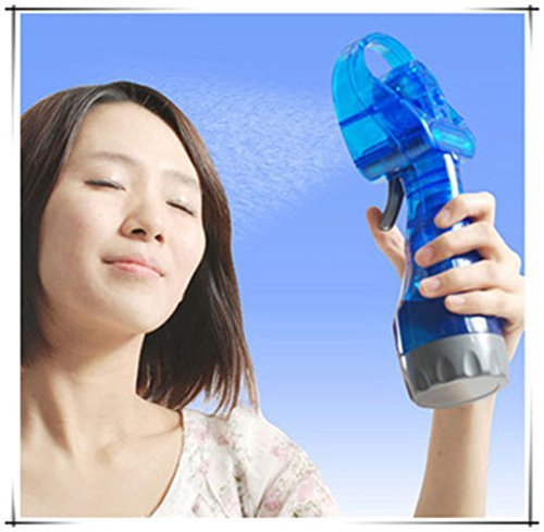 Almand Hand held mini ice water misting sprayer portable ice Water Spray fan by Absales