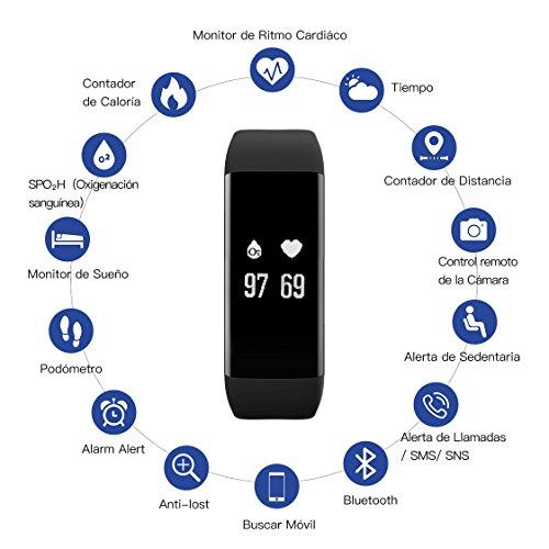 Pulsera-Actividad-Pulsmetro-Impermeable-IP68-BAIHE-Pulsera-Inteligente-con-Monitor-de-Ritmo-Cardaco-Monitor-de-Actividad-Podmetro-Monitor-de-Caloras-y-Sueo-Pulsera-Bluetooth-Mvil-Compatible-con-IOS-y-