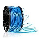 Kaiserlich24 3D Filament PLA & ABS 1.75mm / 3mm Printer Spule Trommel Patrone 1kg (Blau, PLA 1.75mm)