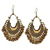 Zephyrr Fashion Oxidized Ethnic Golden B...