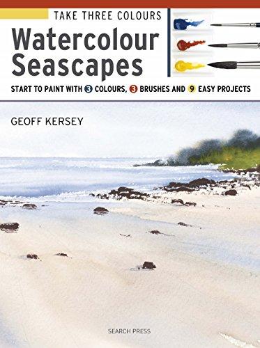 Take Three Colours: Watercolour Seascapes (English Edition) por Geoff Kersey