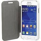 Muvit MUSLI0579 Etui folio slim pour Samsung Galaxy Ace 4 Blanc