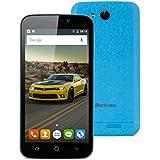 "Blackview A5 - Smartphone móvil libre Android 6.0 (Pantalla 4.5"", 16GB, Cámara 5.0 Mp, 8GB ROM, 1GB RAM, Quad Core 1.3GHz, Dual SIM, Wifi, Bluetooth), Azul"