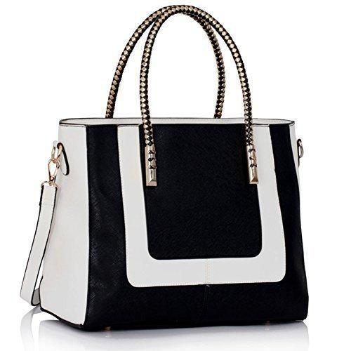 Damen Designer-Handtaschen Damen neue Art und Weise Faux-Leder-Schulter-Tragetaschen (Handtaschen Designer Inspiriert Qualität)