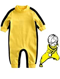 Baby Infant Toddler Clothing Gift Bruce Lee Style Baby Boys' Funny Romper Age 12 to 18 Months Old Boys' Bodysuits Baby One-Pieces