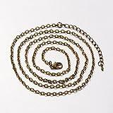 Kette Vollständige-30.3cm mit Verschluss–Bronze Antik