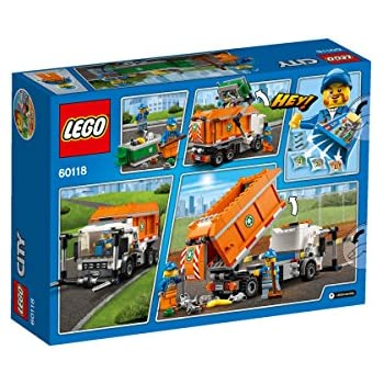 lego 60118 city jeu de construction le camion poubelle jeux et jouets. Black Bedroom Furniture Sets. Home Design Ideas