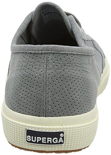 Superga 2750 Perfsuew, Sneaker Unisex – Adulto Grey (Dark Grey Sage)