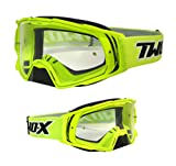 Two de X Rocket Cross Gafas Borrar MX Motocross Enduro Transparente Cristal Motocicleta Gafas Protección Gafas con Nariz Anti Scratch Fast Change