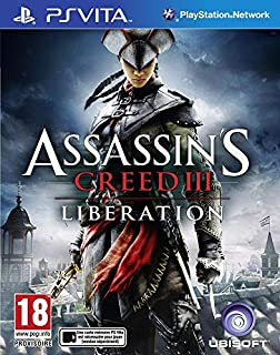 Assassin's Creed III : Liberation (PS Vita) (B0088O0MQ2) | Amazon price tracker / tracking, Amazon price history charts, Amazon price watches, Amazon price drop alerts
