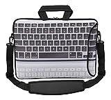 MySleeveDesign Sacoche en néoprène pour ordinateur portable avec bandoulière 15,6...
