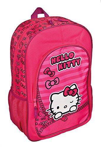 Undercover HKSU7611 Schulrucksack Hello Kitty, ca. 49 x 29 x 12 cm (Hello Schulrucksack Kitty)