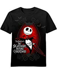 Nightmare Before Christmas Dark Love Men's T-Shirt Black (L)