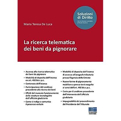 La Ricerca Telematica Dei Beni Da Pignorare