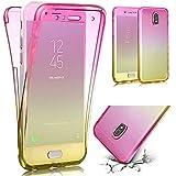 QianYang Galaxy J7 2017 Funda Galaxy J7 2017 Carcasa Funda de Silicona TPU en Transparente Case para Samsung Galaxy J7 2017 Transparente Suave Silicona Carcasa Case para Samsung Galaxy J7 2017(5,5 Pulgadas SM-J730F)