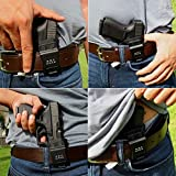 Vioaplem IWB KYDEX Holster Adatto A: sig Sauer P365 Fondina all'Interno Concealed Carry Fondine for Pistole Casi Guns Pouch Accessori (Color : Black for Right)