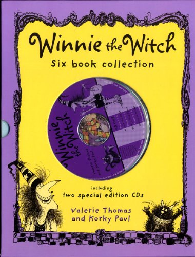 Winnie the Witch Six Book and Two CD Collection por Valerie Thomas
