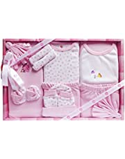 Mini Berry Baby Gift Set (Pink)- 13 Pieces