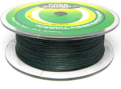 FREEFISHER - HILO TRENZADO DE 4 STRANDS 300M 100%PE 0,08MM-0,5MM
