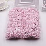 #9: 144 pcs/lot Foam Artificial Flowers (Pink)