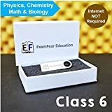 CBSE Class 6 Science & Math Preparation (Pendrive + OTG connector) ExamFear Education