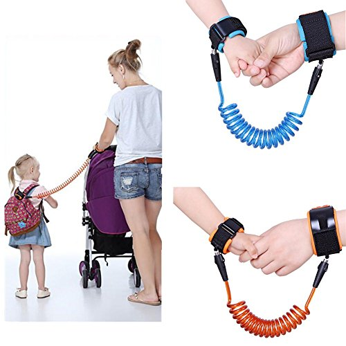 SHOPEE BRANDED Toddler Kids Baby Safety Walking Harness Anti-lost Strap Wrist Leash Hand Belt (COLOR MAY VERY)