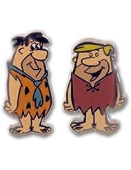 Boutons de manchette - CUE7010 - Homme - Plaqué Rhodium - Verre