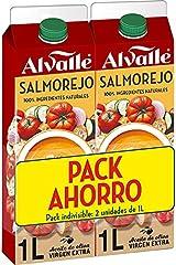Alvalle Salmorejo- Pack Ahorro (2 unidades 1L)