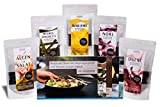 ALGAMAR Algen Starter-Box, Bio, Roh & Vegan, getrocknete Meeresalgen/Dulse/Nori/Meeresspaghetti/Wakame/Algen für Salate, plus 5 Rezeptkarten