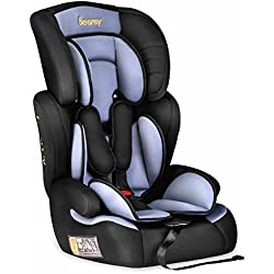 Besrey silla de coche para bebe Grupo 1 2 3 tres en uno silla coche 9 a 36 kg - 9 meses a 12 years Normativa Europea ECE