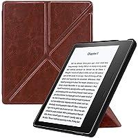 Fintie All-New Kindle Oasis Cover (9ª Gen - modello 2017) - Ultra Sottile Leggera Custodia Origami Case con Funzione Supporto e Auto Sveglia / Sonno per Nuovo Amazon Kindle Oasis E-reader (Marrone)