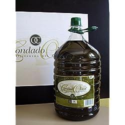 Aceite de Oliva Virgen Extra CondadOliva - Garrafa de 5L - Calidad 100% Picual