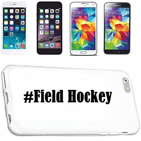 cubierta del teléfono inteligente Samsung S5 Mini Galaxy Hashtag ... #Field Hockey ... en Red Social Diseño caso duro de la cubierta protectora del teléfono Cubre Smart Cover para Samsung Galaxy Smartphone … en blanco ... delgado y hermoso, ese es nuestro hardcase. El caso se fija con un clic en su teléfono inteligente