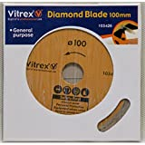 Vitrex Diamant Lame 100 mm