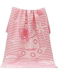 Belle Elégant Enfants Filles Serviettes de bain bébé Mat Blanket Serviette