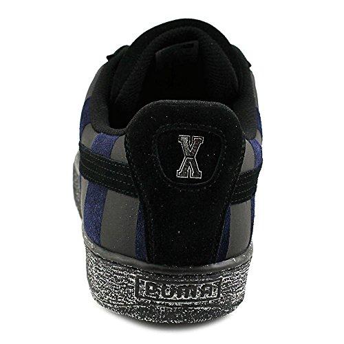 Puma States X Vashtie Leder Turnschuhe Black-Black Iris