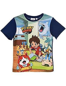 ae80efd85d760 Yo-Kai Watch Camiseta de Manga Corta - Para Niño