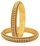 Zeneme Trendy Gold Plated Bangles Jewell...
